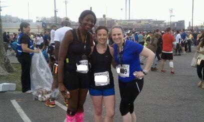 Irene, Jess and I post-race...still smiling!