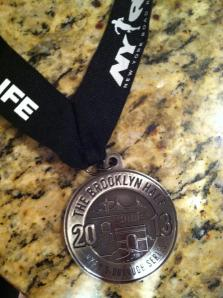 My finisher's medal!